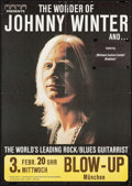 """Movie Posters:Rock and Roll, The Wonder of Johnny Winter (Mama, 1971). German A1 Concert Poster(23.25"""" X 33""""). Rock and Roll.. ..."""