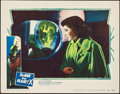 "Movie Posters:Science Fiction, The Man from Planet X (United Artists, 1951). Lobby Card (11"" X14""). Science Fiction.. ..."