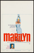 "Movie Posters:Documentary, Marilyn (20th Century Fox, 1963). Window Card (14"" X 22""). Documentary.. ..."