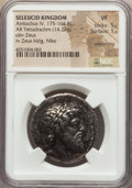 Ancients:Greek, Ancients: SELEUCID KINGDOM. Antiochus IV Epiphanes (175-164 BC). ARtetradrachm (14.22 gm)...