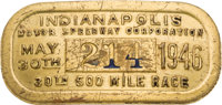 1946-2015 Indianapolis Motor Speedway Pit Badge Complete Run of 70