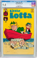 Silver Age (1956-1969):Humor, Little Lotta #75 File Copy (Harvey, 1968) CGC NM/MT 9.8 Cream to off-white pages....