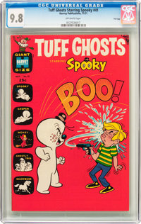 Tuff Ghosts Starring Spooky #41 File Copy (Harvey, 1971) CGC NM/MT 9.8 Off-white pages