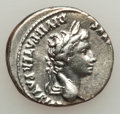 Ancients:Roman Imperial, Ancients: Augustus (27 BC - AD 14). AR denarius (3.85 gm)....