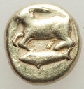 Ancients:Greek, Ancients: MYSIA. Cyzicus. Ca. 500-450 BC. EL 6th stater or hecte(2.35 gm). ...