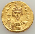 Ancients:Byzantine, Ancients: Phocas (AD 602-610). AV solidus (4.37 gm)....