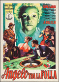 """Movie Posters:Foreign, Strange Witness (Continental, 1952). Italian 2 - Fogli (39.25"""" X 55.25""""). Foreign.. ..."""