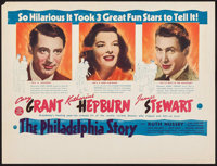 """The Philadelphia Story (MGM, 1940). Promotional Poster (8.5"""" X 11.25""""). Comedy"""