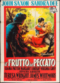 "Movie Posters:Drama, The Restless Years (Universal International, 1959). Italian 4 - Fogli (55.25"" X 77.5""). Drama.. ..."