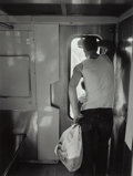 Photographs, Thomas Roma (American, b. 1950). Father and Son on Train,1993. Gelatin silver. 12-1/2 x 9-1/2 inches (31.8 x 24.1 cm). ...