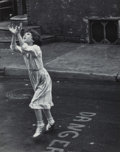 Photographs, Edward Wallowitch (American, 1932-1981). Untitled (Girl With Outstretched Arms), 1960. Gelatin silver. 13-3/8 x 10-1/2 i...