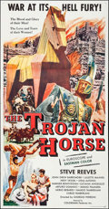 "Movie Posters:Action, The Trojan Horse (Colorama, 1961). Three Sheet (41"" X 79"").Action.. ..."
