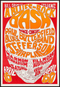 Movie Posters:Rock and Roll, A Blues-Rock Bash with Paul Butterfield Blues Band and JeffersonAirplane at the Harmon Gymnasium and Fillmore Auditorium (Bil...