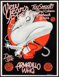 Movie Posters:Rock and Roll, New Year's Eve with Too Smooth, Paul Ray & the Cobras, andWommack Bros. at the Armadillo World Headquarters (AWH, 1976).Co...