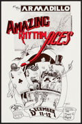 """Movie Posters:Rock and Roll, Amazing Rhythm Aces at the Armadillo World Headquarters (AWH,1975). Concert Poster (11.5"""" X 17.5""""). Rock and Roll.. ..."""
