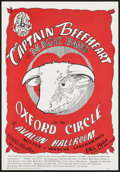 """Movie Posters:Rock and Roll, Captain Beefheart and His Magic Band at the Avalon Ballroom (FamilyDog, 1966). Concert Poster No. 13-2 14("""" X 20.5"""") 2nd Pr..."""