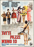 "Movie Posters:Foreign, King of Hearts (Dear Film, 1967). Italian 2 - Fogli (39.25"" X 55""). Foreign.. ..."