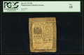 Colonial Notes:Pennsylvania, Pennsylvania December 8, 1775 20s PCGS Fine 15.. ...