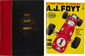 Miscellaneous Collectibles:General, 1966-69 Motor Racing Series Foyt, Clark & Andretti Bound Book....