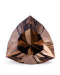 Gems:Faceted, Gemstone: Smoky Quartz - 43.98 Ct.. Brazil. 25.3 x 25.8 x 16.1mm. ...