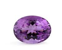 Gemstone: Amethyst - 14.77 Ct. Brazil 18.1 x 13.9 x 10.6 mm