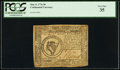 Colonial Notes:Continental Congress Issues, Continental Currency May 9, 1776 $8 PCGS Very Fine 35.. ...
