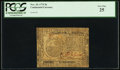 Colonial Notes:Continental Congress Issues, Continental Currency November 29, 1775 $6 PCGS Very Fine 25.. ...