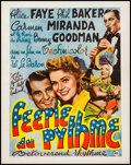 """Movie Posters:Musical, The Gang's All Here (20th Century Fox, 1943). Belgian (17"""" X 21.25""""). Musical.. ..."""