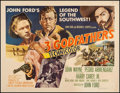 "Movie Posters:Western, 3 Godfathers (MGM, 1948). Half Sheet (22"" X 28"") Style A. Western....."