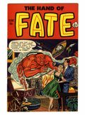 Golden Age (1938-1955):Horror, The Hand of Fate #11 (Ace, 1952) Condition: VF....