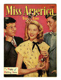 Golden Age (1938-1955):Romance, Miss America Magazine V5#2 (Timely, 1946) Condition: VF/NM....