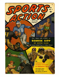 Sports Action #2 (Atlas, 1950) Condition: FN/VF