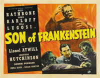 "Son of Frankenstein (Universal, 1939). Half Sheet (22"" X 28"")"