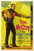"Movie Posters:Western, The Fighting Fool (Columbia, 1932). One Sheet (27"" X 41""). ..."