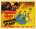 """Movie Posters:Comedy, Bringing Up Baby (RKO, 1938). Title Lobby Card (11"""" X 14""""). ..."""