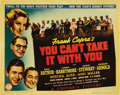 """Movie Posters:Comedy, You Can't Take It With You (Columbia, 1938). Title Lobby Card (11""""X 14""""). ..."""