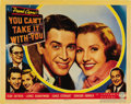 "Movie Posters:Comedy, You Can't Take It With You (Columbia, 1938). Lobby Card (11"" X14""). ..."