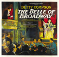 "Movie Posters:Drama, The Belle of Broadway (Columbia, 1926). Six Sheet (81"" X 81""). ..."