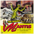 "Movie Posters:Science Fiction, The Deadly Mantis (Universal International, 1957). Six Sheet (81"" X81""). ..."