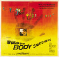 "Movie Posters:Science Fiction, Invasion of the Body Snatchers (Allied Artists, 1956). Six Sheet(81"" X 81""). ..."