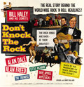 "Movie Posters:Rock and Roll, Don't Knock The Rock (Columbia, 1957). Six Sheet (81"" X 81"")...."