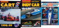 Miscellaneous Collectibles:General, 1981-1999 IndyCar and CART Yearbooks Lot of 9....