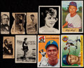 Non-Sport Cards:Singles (Pre-1950), 1909-55 Non-Sport Collection With Baseball & Boxing Cards(28)....