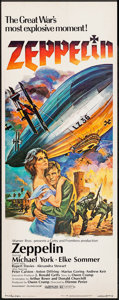"Movie Posters:War, Zeppelin & Others Lot (Warner Brothers, 1971). Inserts (3) (14""X 36""). War.. ... (Total: 3 Items)"