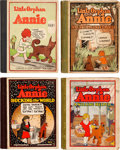 Platinum Age (1897-1937):Miscellaneous, Little Orphan Annie Hardcover Group of 4 (Cupples & Leon,1920s) Condition: Average VG.... (Total: 4 Comic Books)