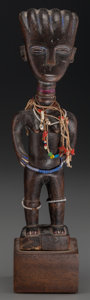 Tribal Art, KULANGO, Ivory Coast. Standing Female Figure...