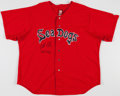 Baseball Collectibles:Uniforms, 2005 Jonathan Papelbon Game Worn Portland Sea Dogs Jersey - With Team LOA....