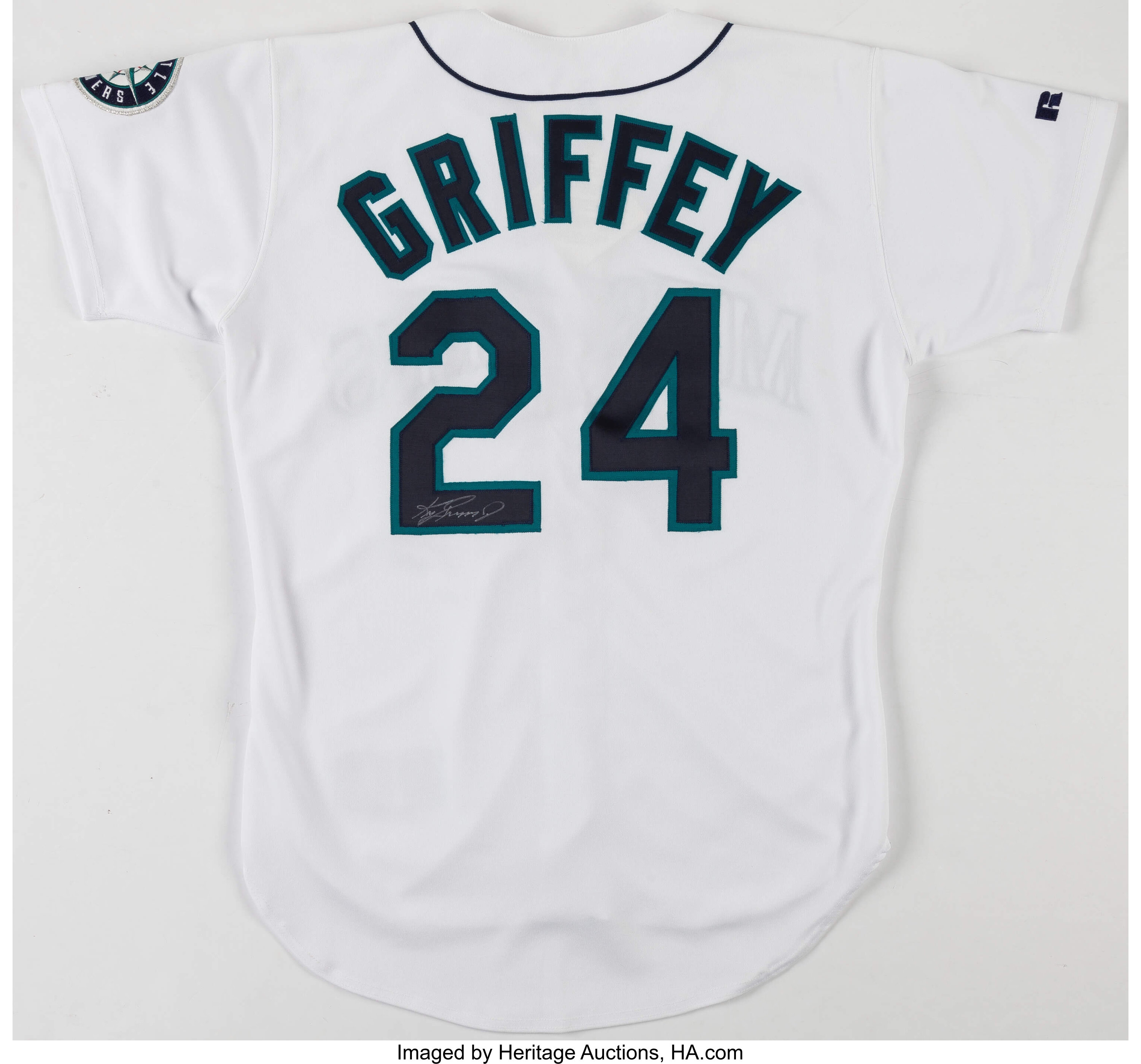 brand new 1f95f 3cbf8 Ken Griffey Jr. Signed Seattle Mariners Jersey.... Baseball ...