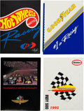 Miscellaneous Collectibles:General, 1980's-'90's Indianapolis Motor Speedway Press Kits Lot ofApproximately 70. ...