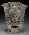 Pre-Columbian:Ceramics, An Elaborate Zapotec / Monte Alban Incensario. c. 500 - 700 AD ...